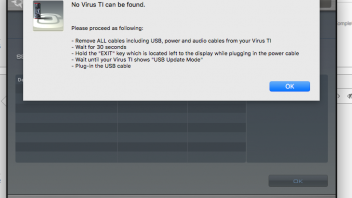 Virus TI 1 not detected on new MacBook Pro w/ OSX 10 13 3